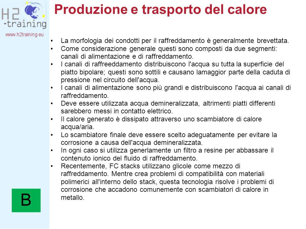 Produzione e trasporto del calore
