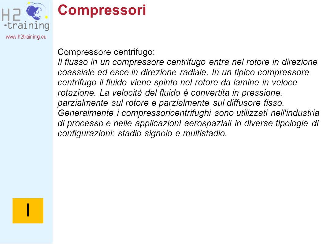 I Compressori Compressore centrifugo: