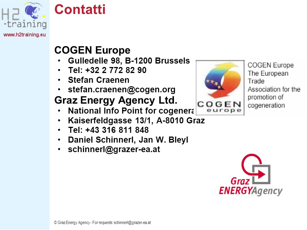 Contatti COGEN Europe Graz Energy Agency Ltd.