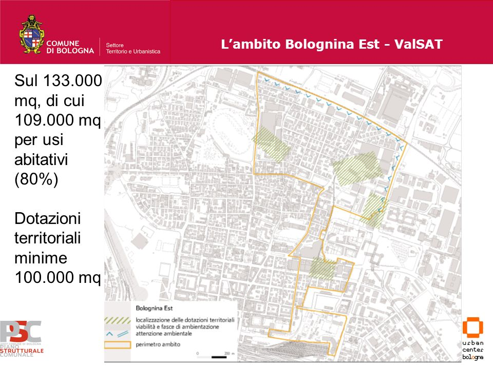 L'ambito Bolognina Est - ValSAT