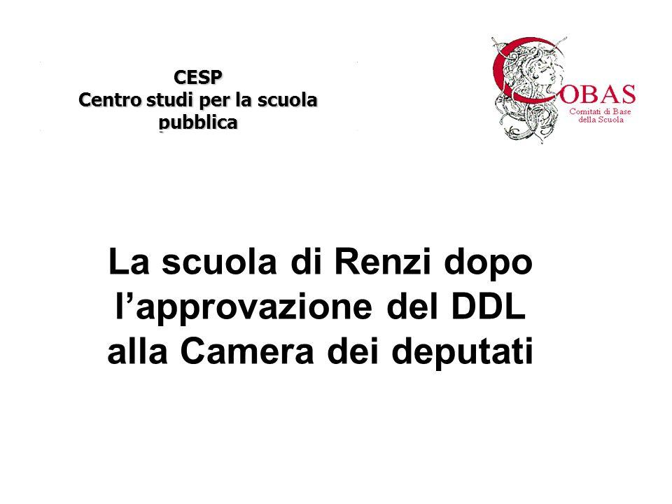 CESP Centro studi per la scuola pubblica