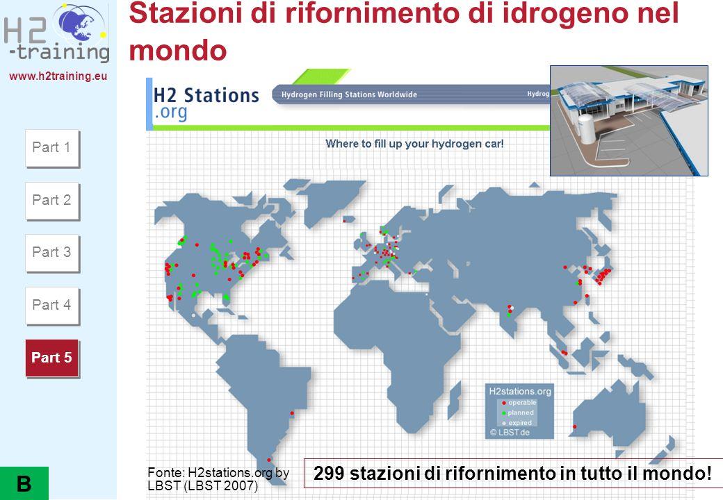 Stazioni di rifornimento di idrogeno nel mondo