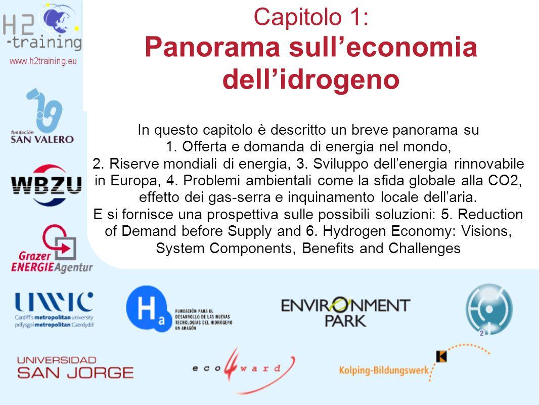 Capitolo 1: Panorama sull'economia dell'idrogeno