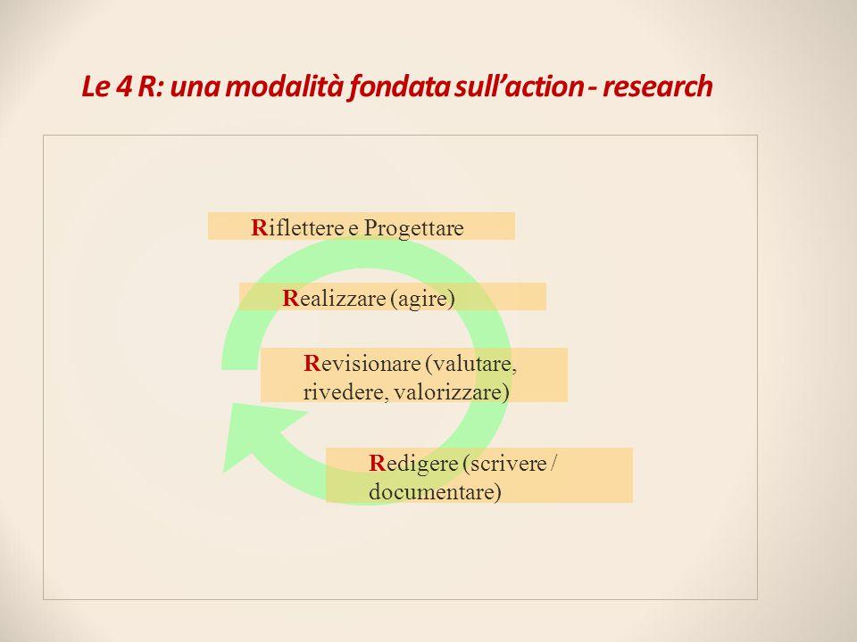 Le 4 R: una modalità fondata sull'action - research