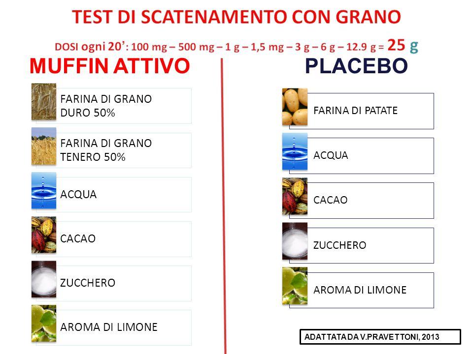 TEST DI SCATENAMENTO CON GRANO