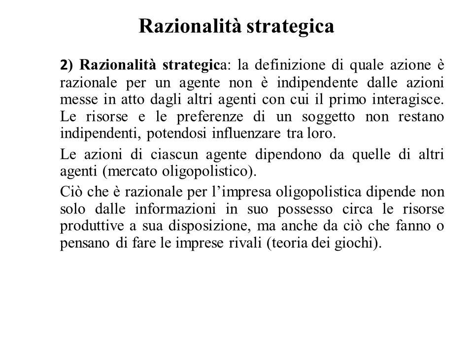 Razionalità strategica