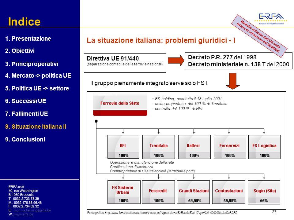 Modello criticato dall'UE nella lettera di infrazione del 26/06/08!