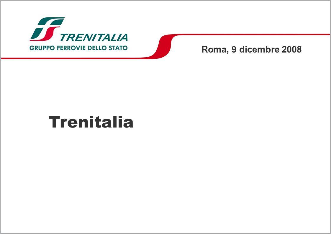 Roma, 9 dicembre 2008 Trenitalia