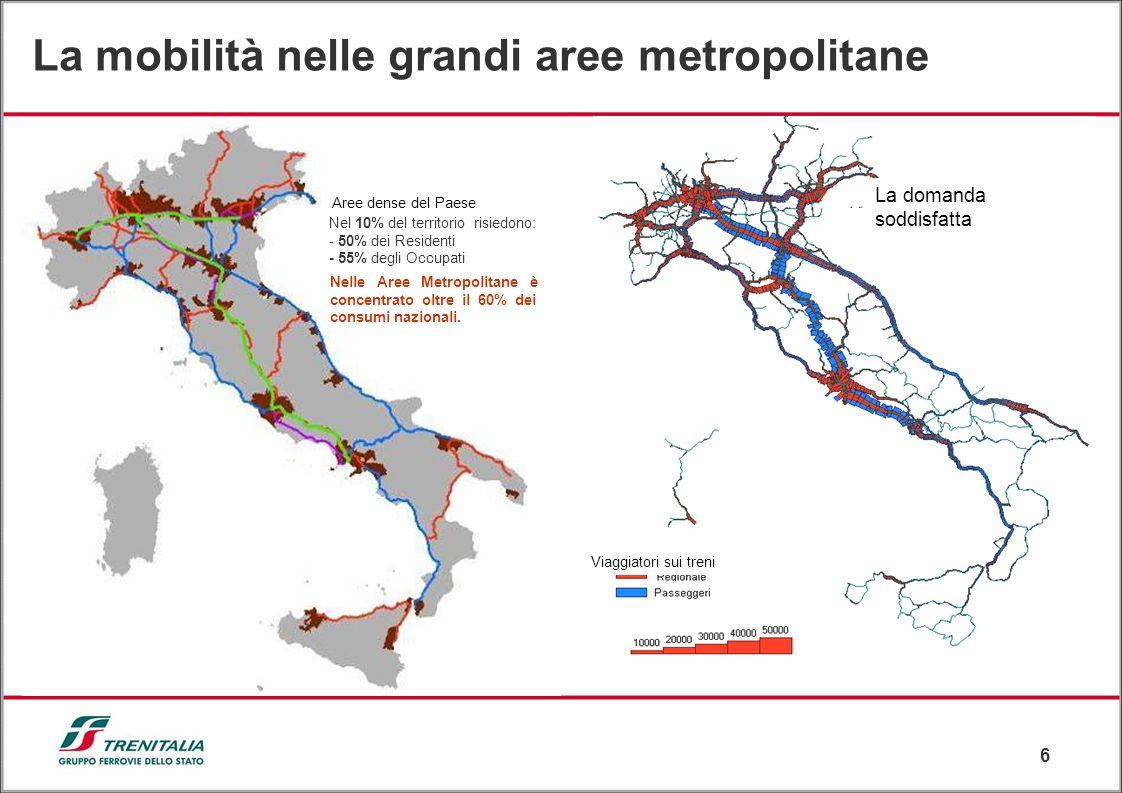 La mobilità nelle grandi aree metropolitane