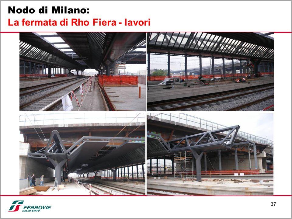 Nodo di Milano: La fermata di Rho Fiera - lavori