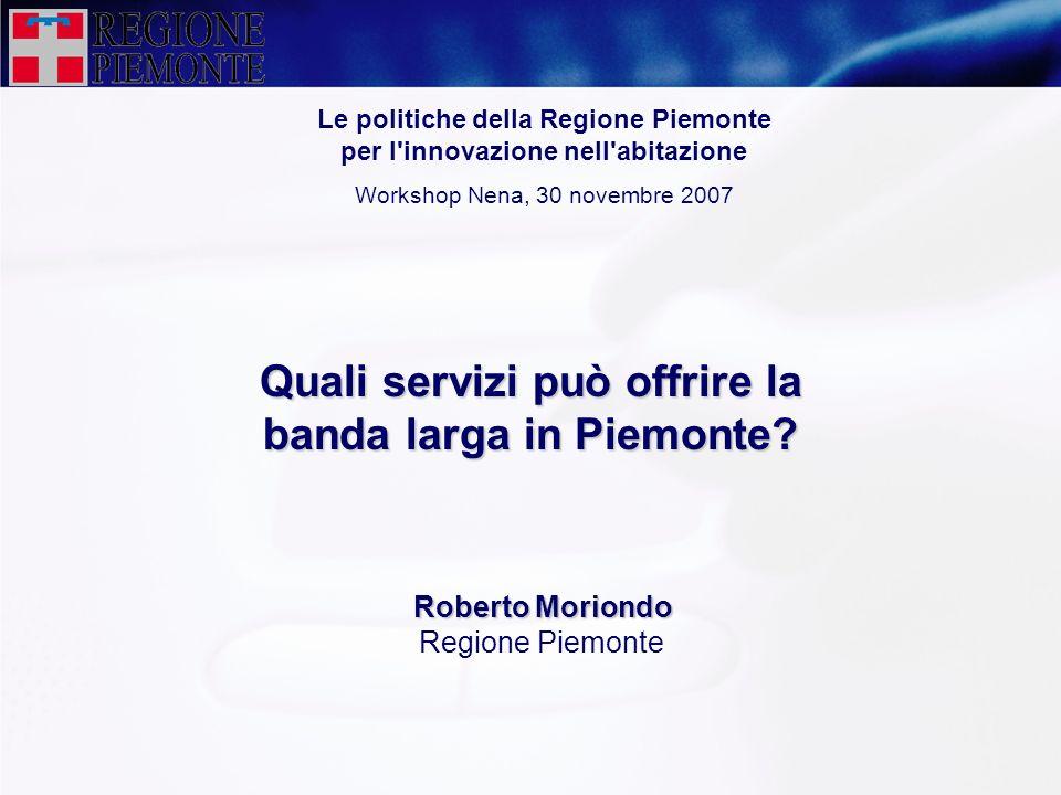 Quali servizi può offrire la banda larga in Piemonte