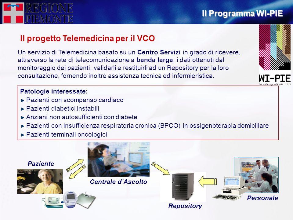 Il progetto Telemedicina per il VCO