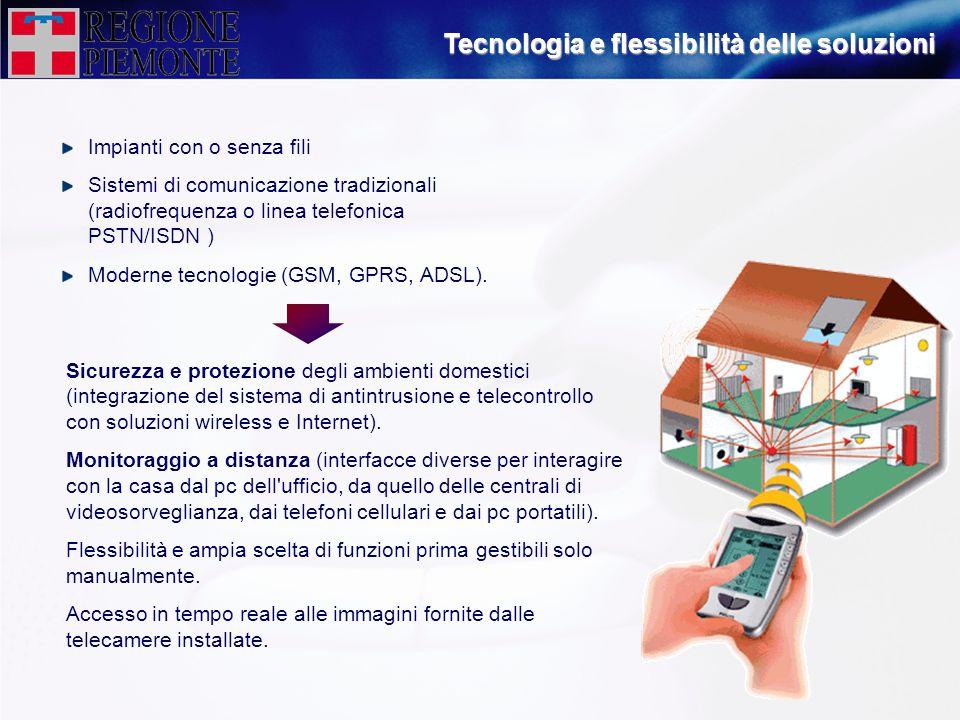 Tecnologia e flessibilità delle soluzioni