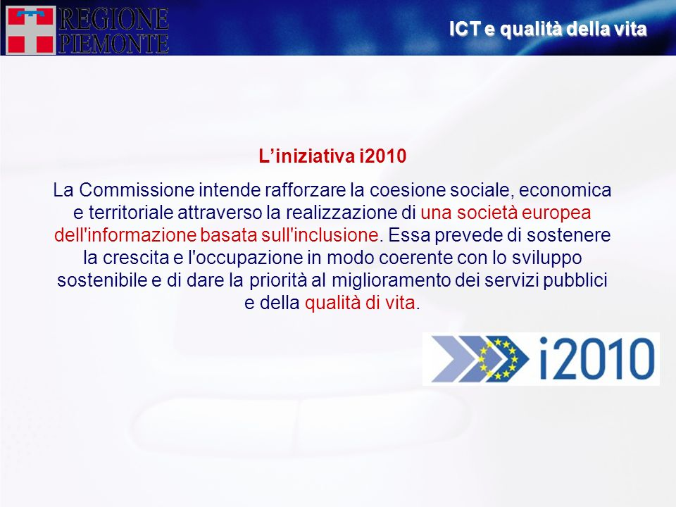 ICT e qualità della vita