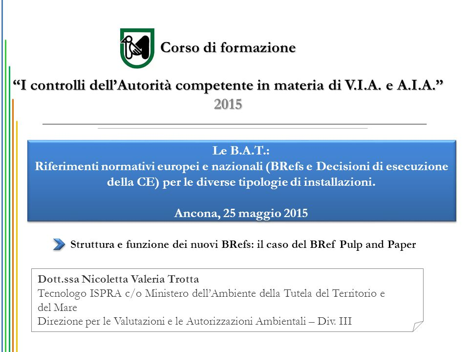 I controlli dell'Autorità competente in materia di V.I.A. e A.I.A.