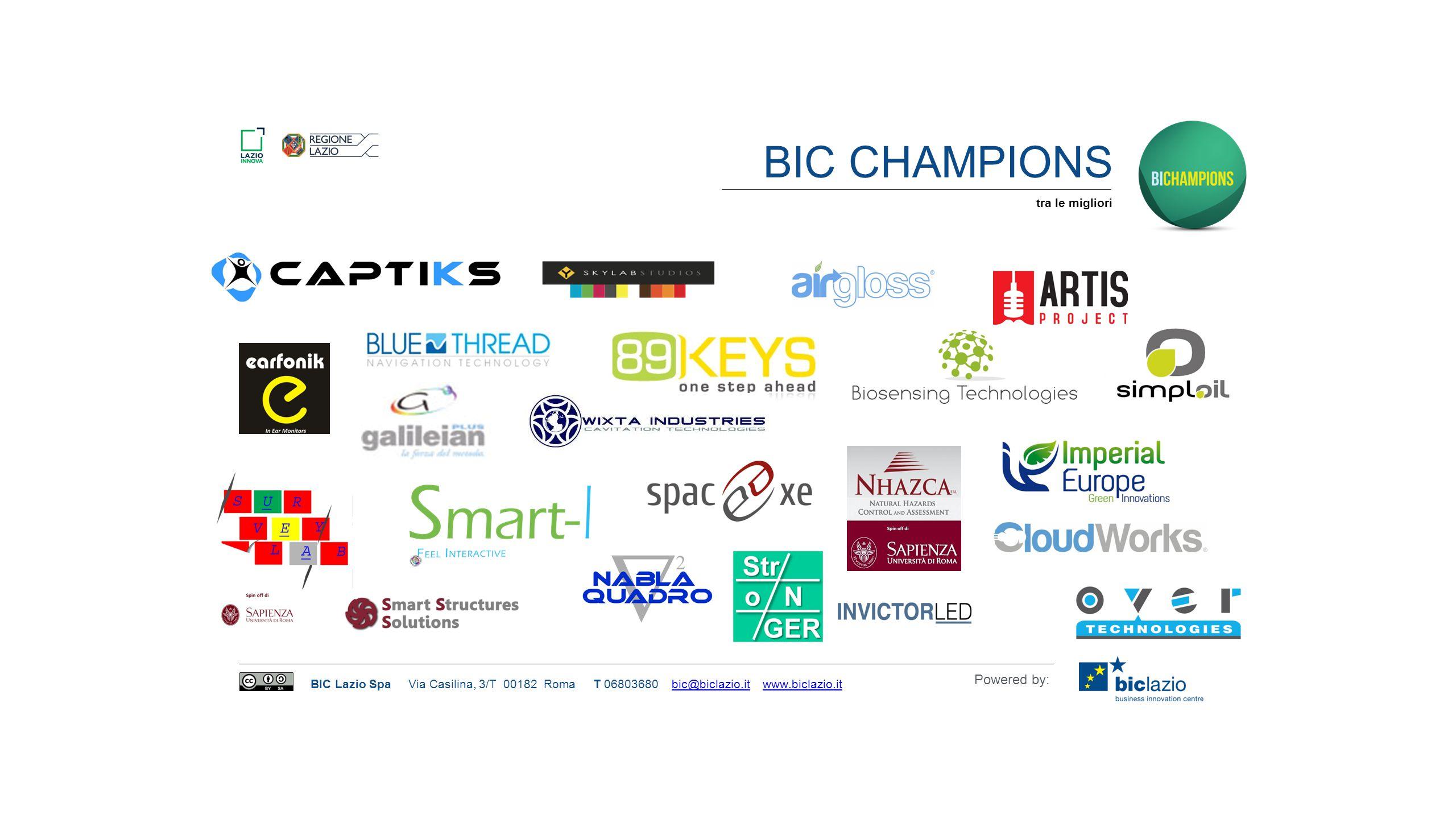 BIC Champions tra le migliori