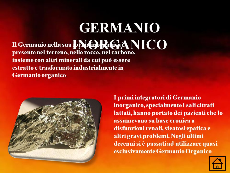GERMANIO INORGANICO