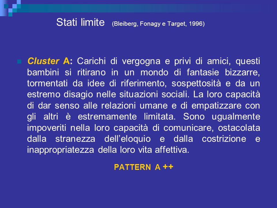 Stati limite (Bleiberg, Fonagy e Target, 1996)