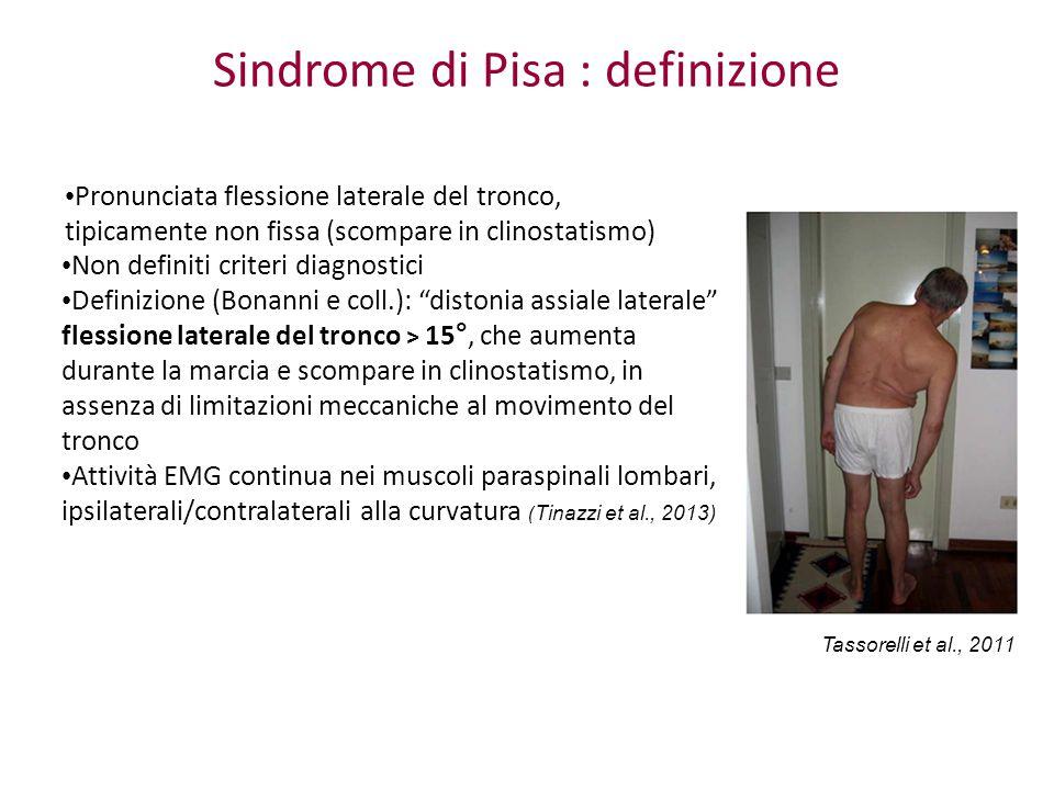 Sindrome di Pisa : definizione