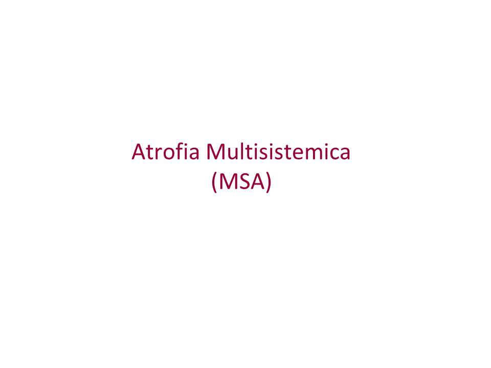 Atrofia Multisistemica (MSA)