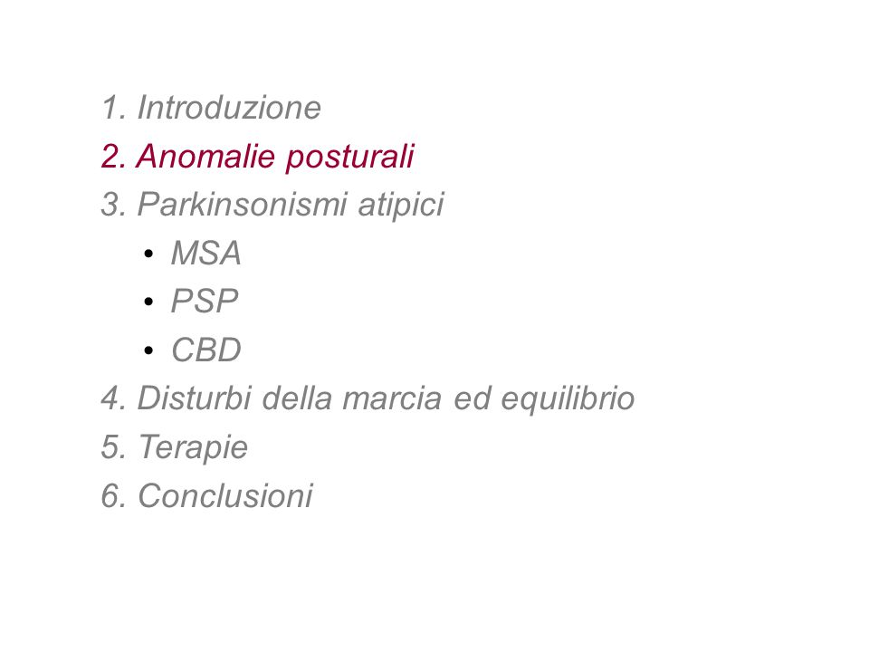 3. Parkinsonismi atipici MSA PSP CBD