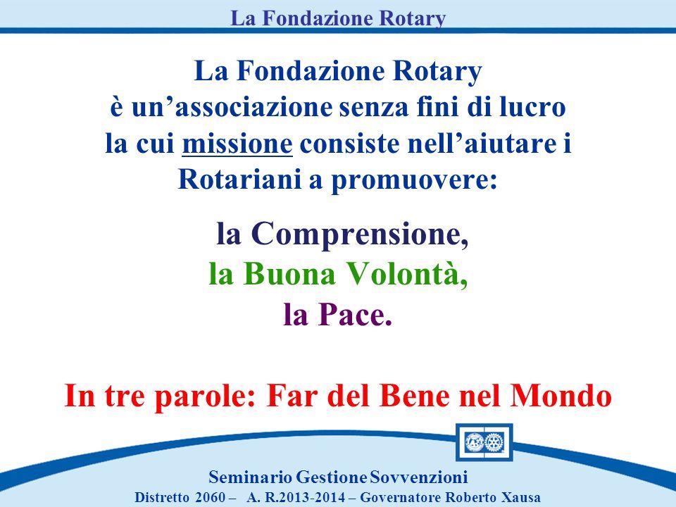 La Fondazione Rotary