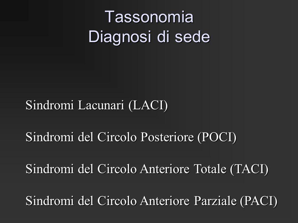 Tassonomia Diagnosi di sede