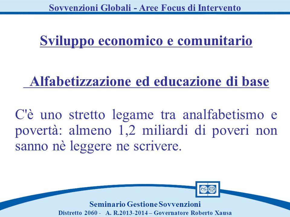 Sviluppo economico e comunitario