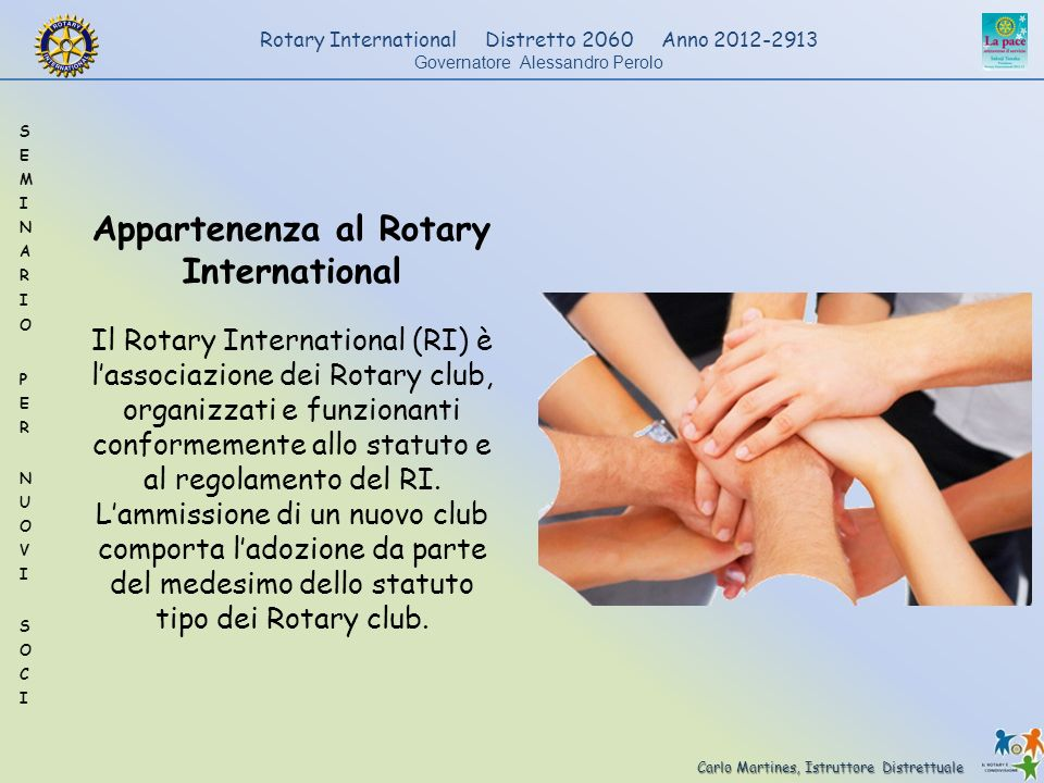 Appartenenza al Rotary International