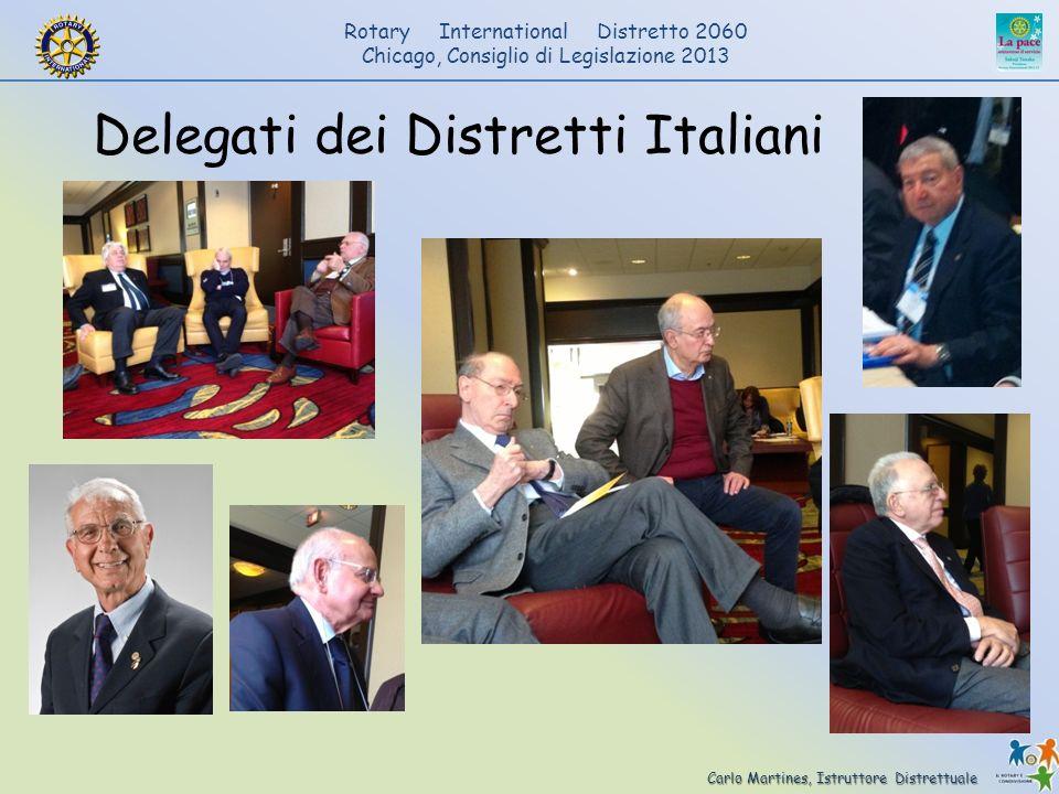 Delegati dei Distretti Italiani