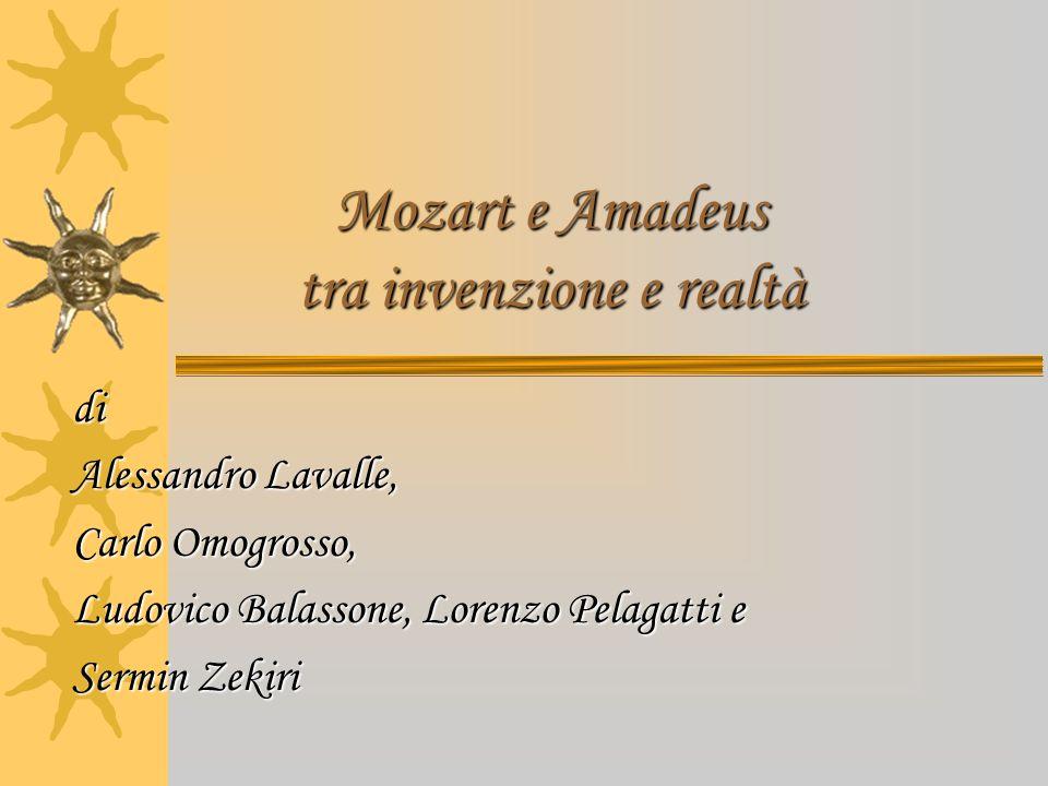 Mozart e Amadeus tra invenzione e realtà
