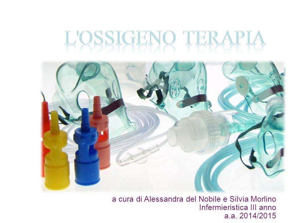 L Ossigeno Terapia a cura di Alessandra del Nobile e Silvia Morlino Infermieristica III anno a.a.