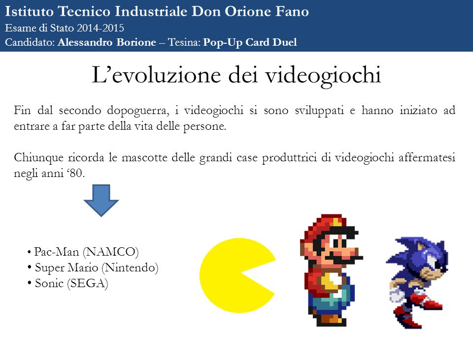 L'evoluzione dei videogiochi