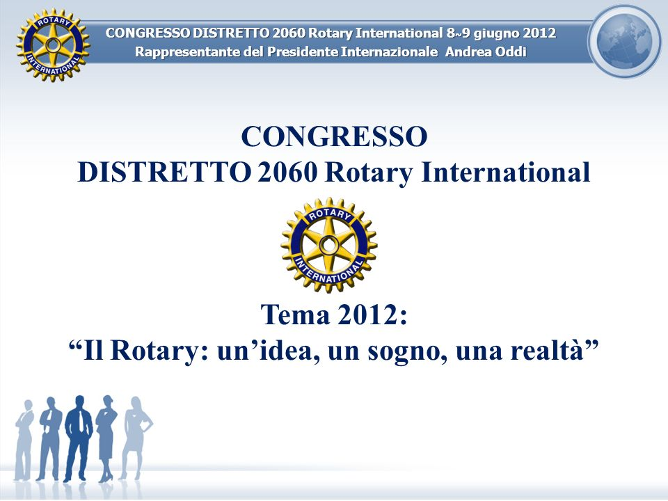 DISTRETTO 2060 Rotary International