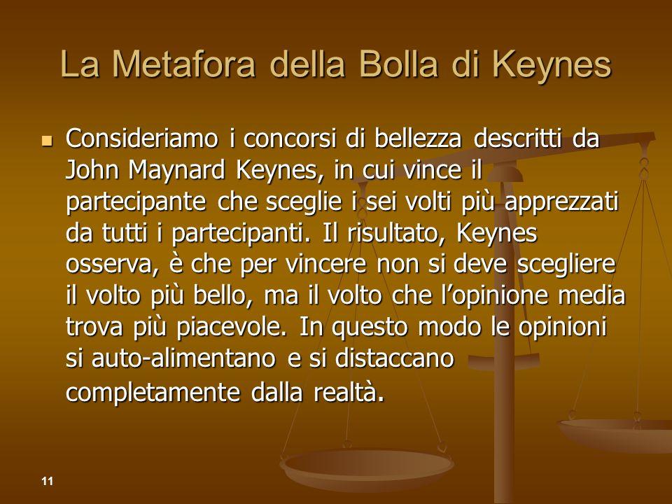 La Metafora della Bolla di Keynes
