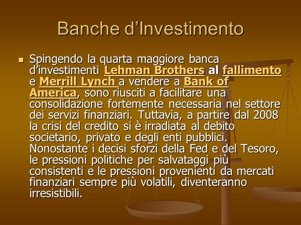 Banche d'Investimento
