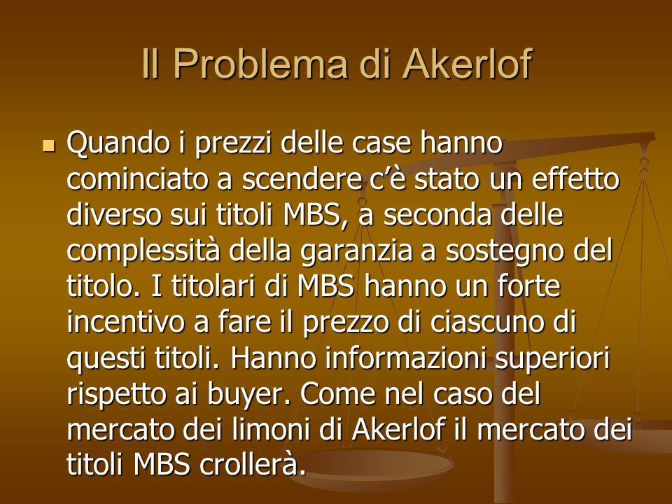 Il Problema di Akerlof
