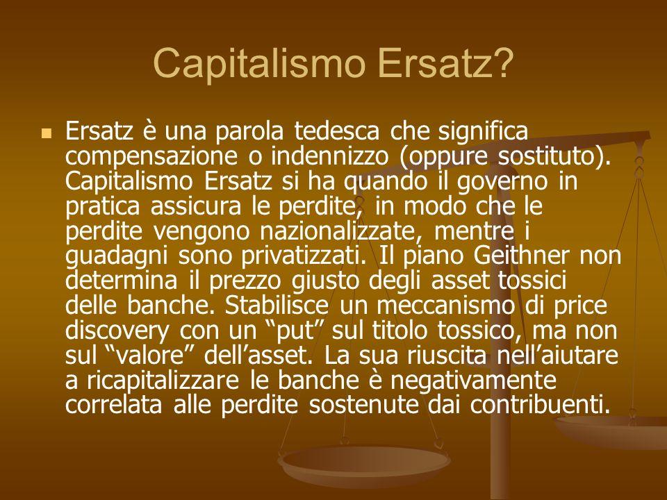 Capitalismo Ersatz