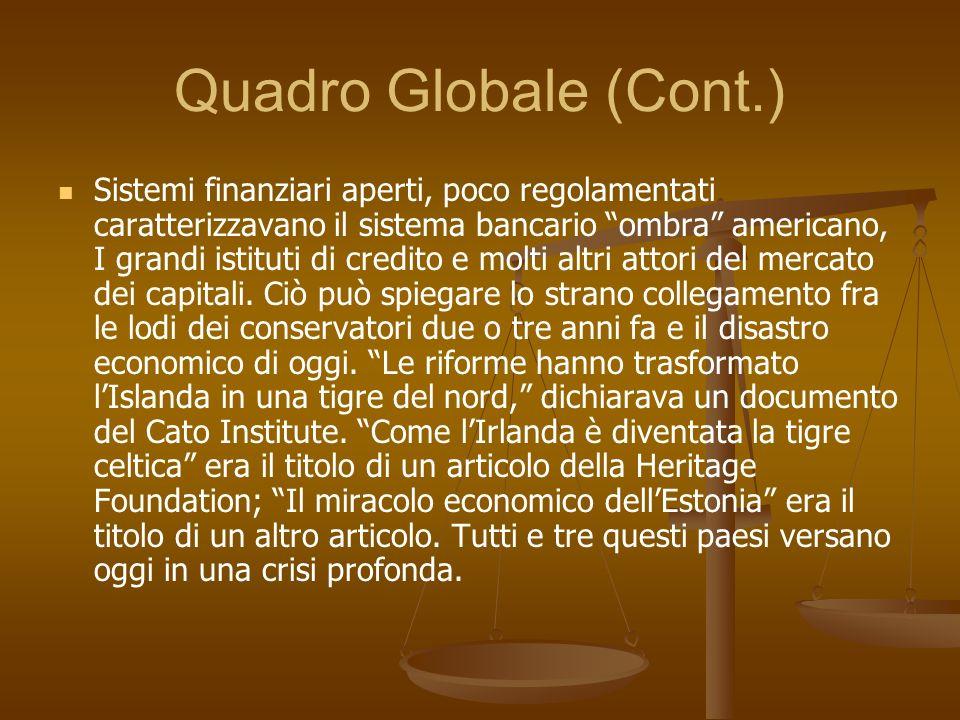 Quadro Globale (Cont.)