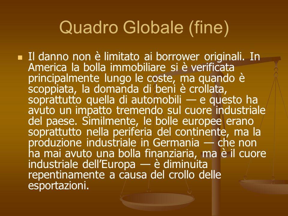 Quadro Globale (fine)