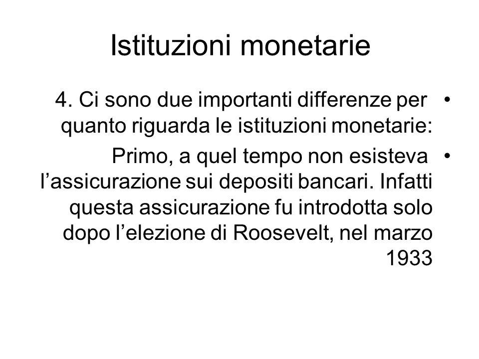 Istituzioni monetarie
