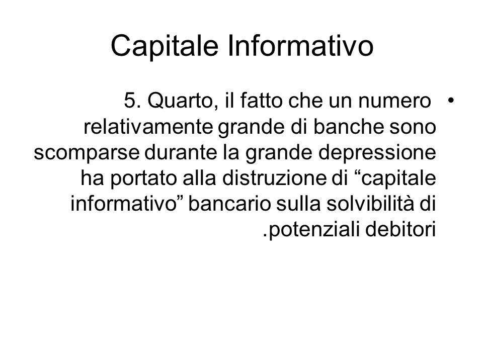 Capitale Informativo