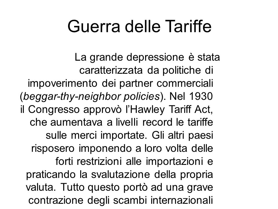Guerra delle Tariffe