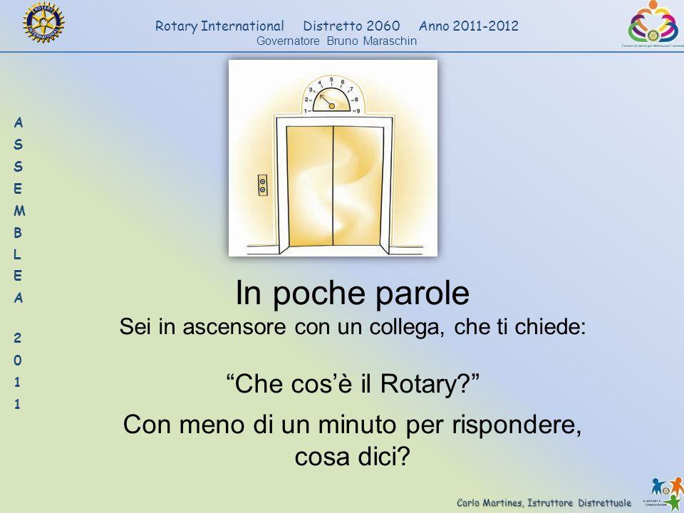 In poche parole Che cos'è il Rotary