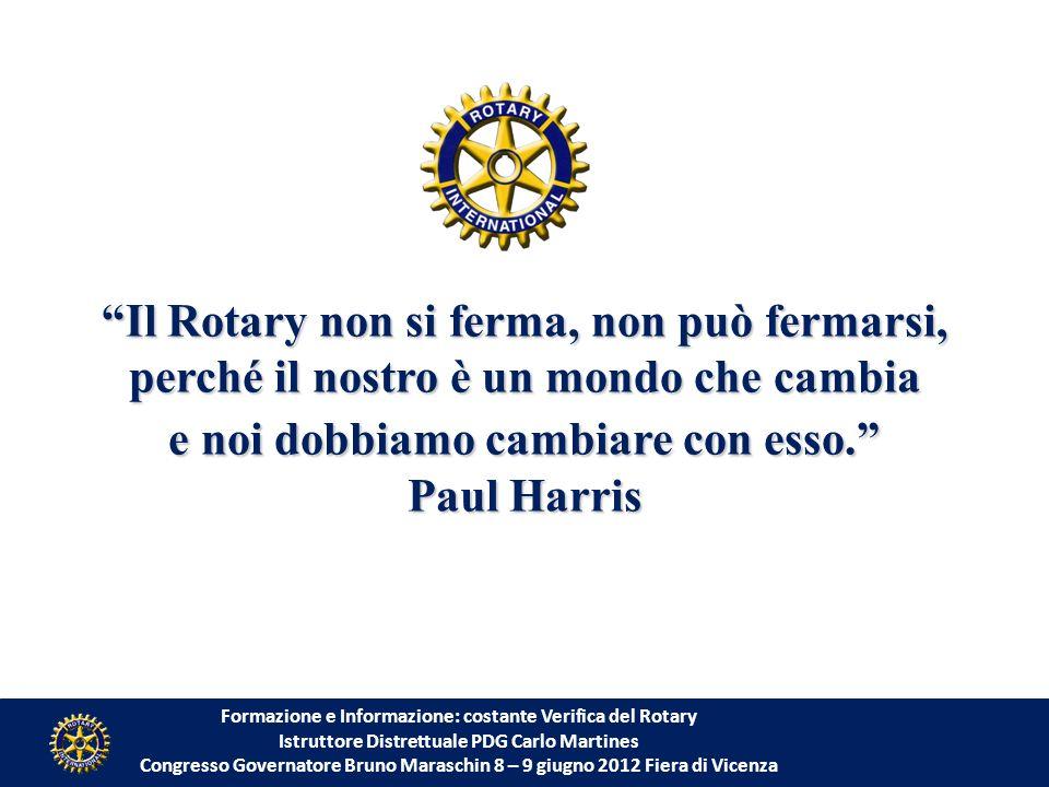 Il Rotary non si ferma, non può fermarsi,