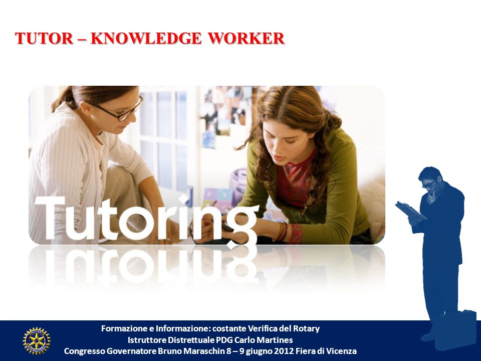 TUTOR – KNOWLEDGE WORKER