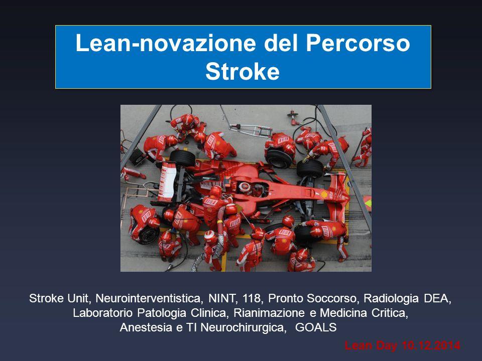 Lean-novazione del Percorso Stroke