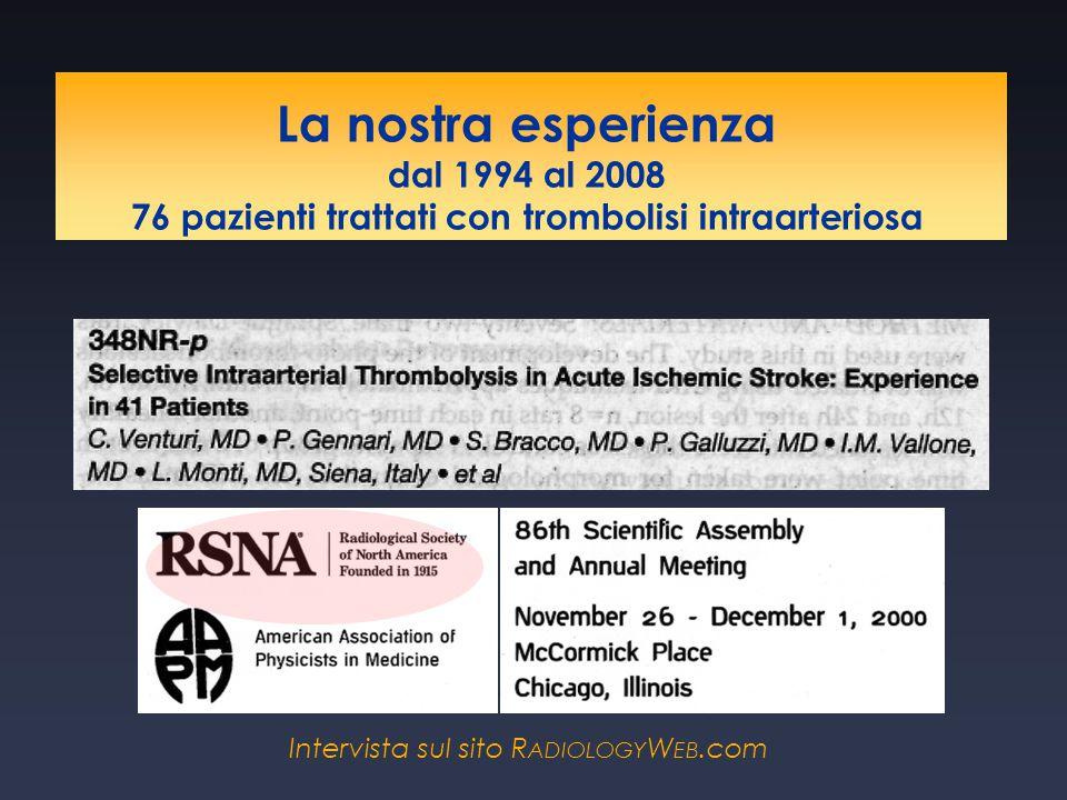 La nostra esperienza dal 1994 al 2008