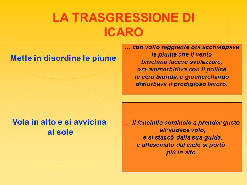 LA TRASGRESSIONE DI ICARO