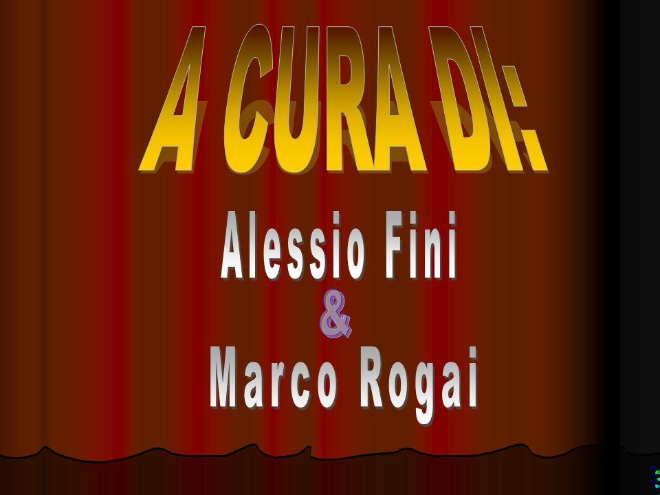 A CURA DI: Alessio Fini & Marco Rogai BONi